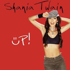 shania twain up album cover