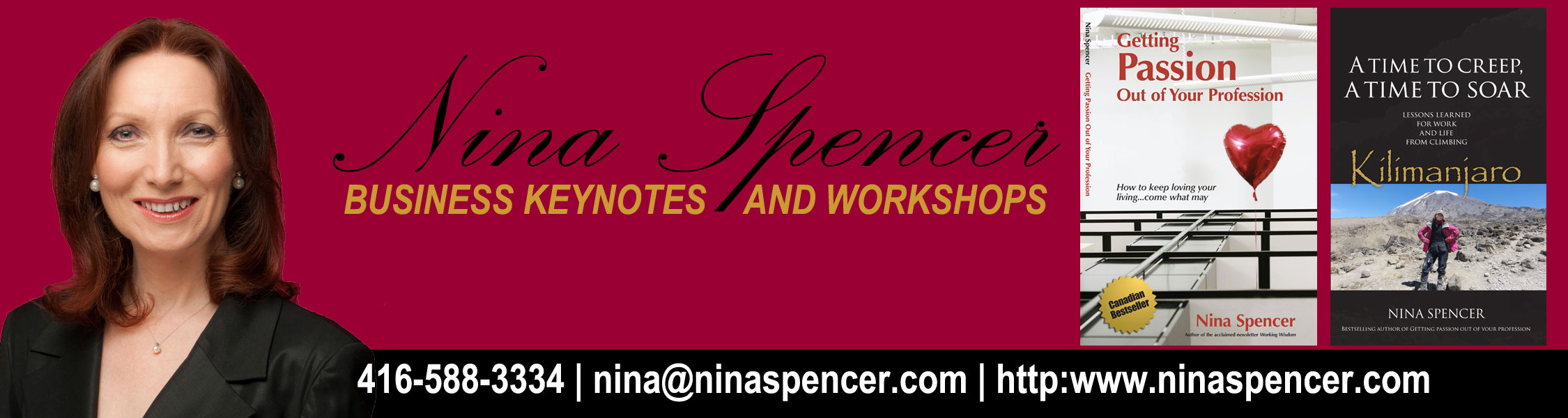 Nina Spencer, Canadian Motivational Keynote Speaker