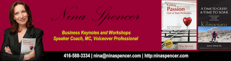 motivational keynote speaker, nina spencer